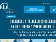 Jornada sobre Biociencias y Tecnologías Aplicadas